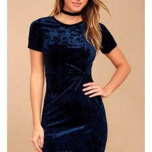 Sage the Label velvet knitted dress